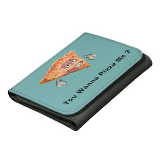 You Wanna Pizza Me Funny Innuendo Wallets