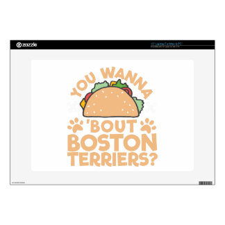 You Wanna Taco Bout Boston Terriers? Decals For Laptops