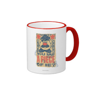 You Want a Piece of Me Ringer Coffee Mug