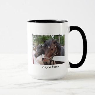 You Want a Stable Relationship? Buy a Horse Mug