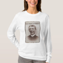 You Want it WHEN? Retro Sepia-Toned Photo T-Shirt
