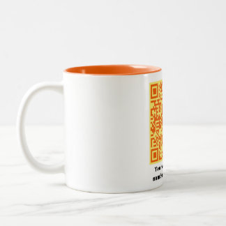 You Want My Phone Number? Orange Yellow Mug
