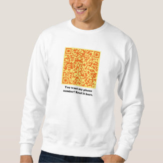 You Want My Phone Number? Pull Over Sweatshirt