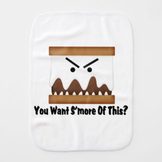 You Want S'more Of This? Burp Cloth
