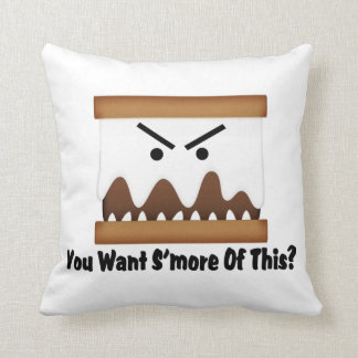 You Want S'more Of This? Throw Pillow