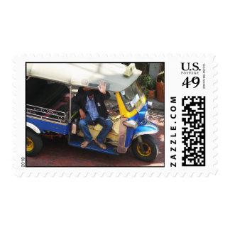 You want TAXI TUK-TUK? ... Bangkok, Thailand Stamps