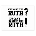 You want the Ruth - You can't handle the Ruth Postcard