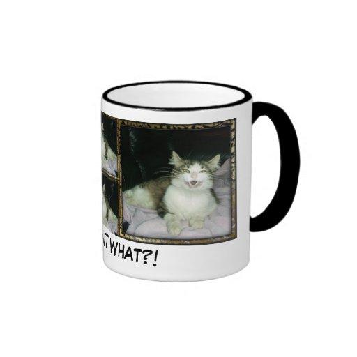 You want WHAT?! Coffee Mug