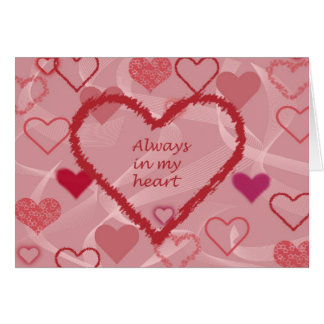 You were always in my heart card