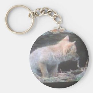 you were little once too basic round button keychain