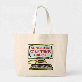 You Were Much Cuter Online Bag
