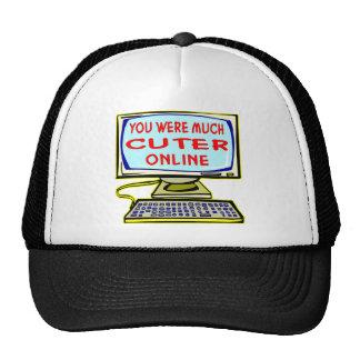 You Were Much Cuter Online Trucker Hat