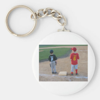 You Were Out Basic Round Button Keychain