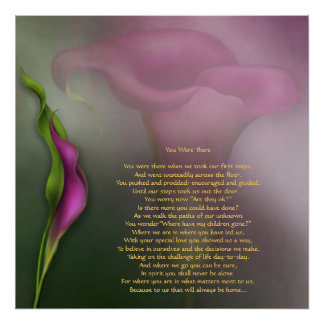 You Were There Print