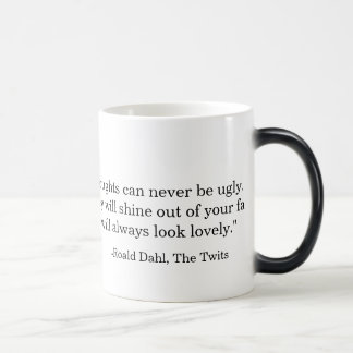 """You will always look lovely"" mug"