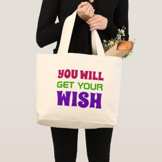 Cool Quote Large Tote Bag