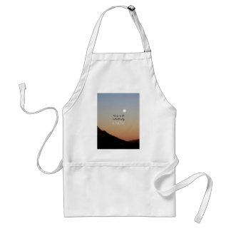 You Will Intuitively Know Adult Apron