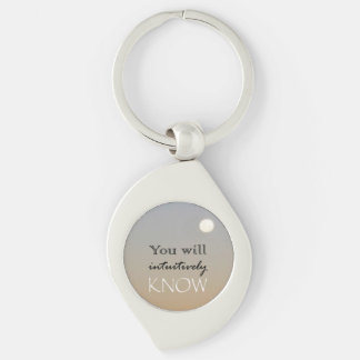 You Will Intuitively Know Keychain
