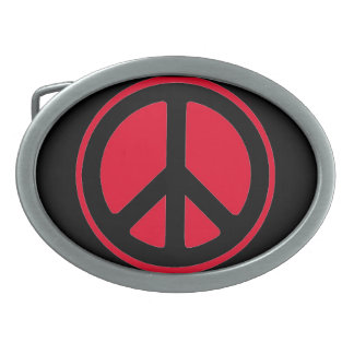 You will love this peace sign belt buckle