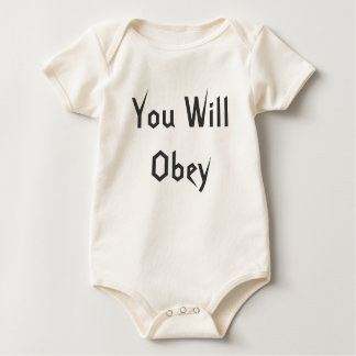 You Will Obey Bodysuit