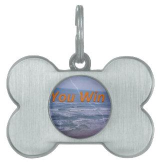you win pet ID tag