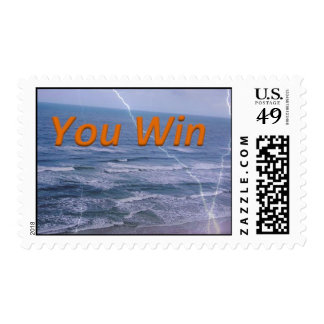 you win postage