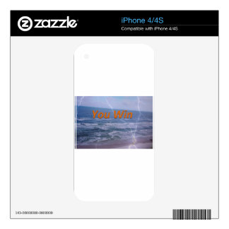 you win skin for iPhone 4