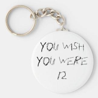 You Wish Basic Round Button Keychain