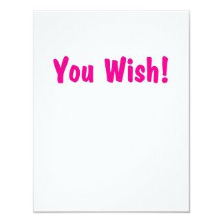 you wish pink card