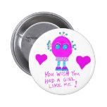 You WISH you had a girl like Tulip ! Button