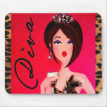 You Won't Find Ordinary Here, Dahling! Mousepad
