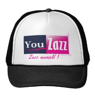 You Zazz line Trucker Hat