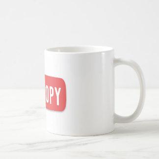 YouCopy Classic White Coffee Mug