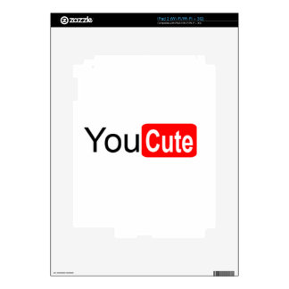 YouCute Decal For iPad 2