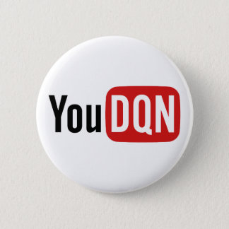 YouDQN Pinback Button
