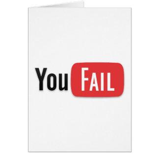 YouFail Card