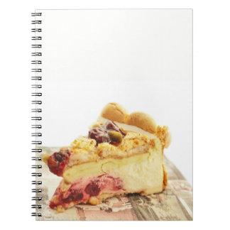 yougyrt pistashio cake notebook