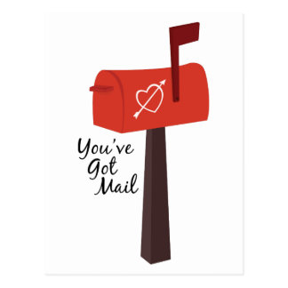 Youhv Got Mail Postcard