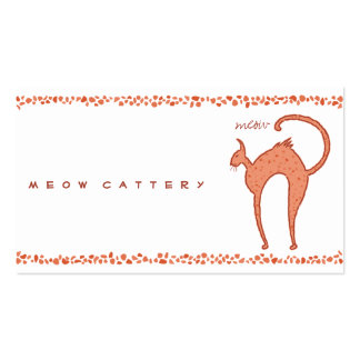 Youko meow Cat Business Cards
