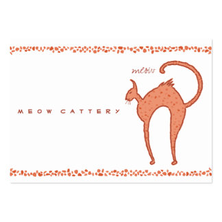 Youko meow Cat Large Business Card