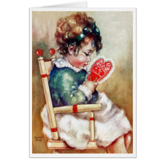 """YOU'LL ALWAYS BE MY BABY"" VINTAGE VALENTINE CARD"