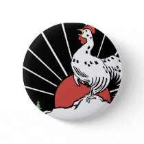 you'll crow.gif pinback button