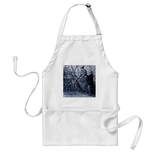 You'll Do All Right Vintage 1915 Adult Apron