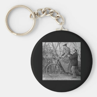 You'll Do All Right Vintage 1915 Keychain