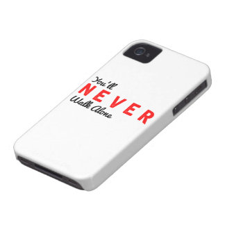 you'll never walk alone iPhone 4 cover