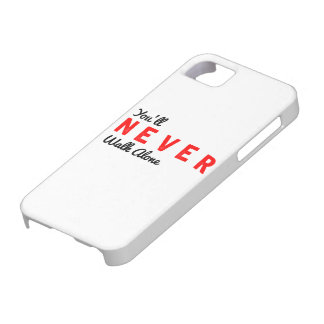 you'll never walk alone iPhone SE/5/5s case