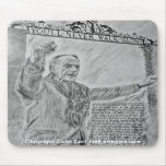 You'll Never Walk Alone Mousepad Colin Carr-Nall