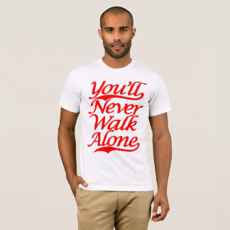 You'll Never Walk Alone YNWA white T-Shirt