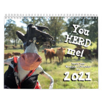 You'll nHEIFER find a better COWlendar than this Calendar