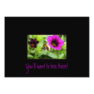 You'll want to bee there! card